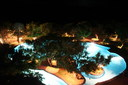 Yala - kväll i poolen