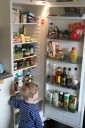 Rensat kylskåp