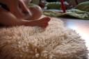 Tvättat lammskinn