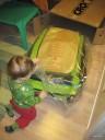 Uppackning av vagn