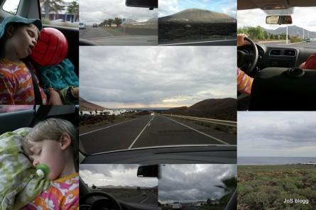 Blandat från biltur