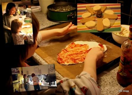 Pizza hemma