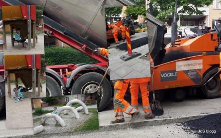 asfalt och kalas